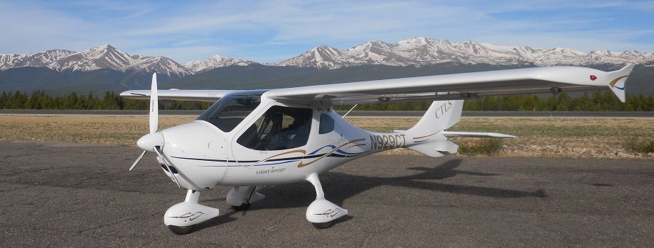 2008 Flight Design CTLS N929CT::Rental rate per hour $ 110 (cash) / $ 115 (credit)